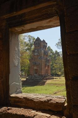 Suor Prat Towers, Angkor Thom, Angkor World Heritage Site, Siem Reap, Cambodia by David Wall