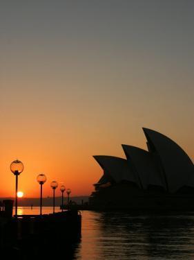 Sydney Opera House at Dawn, Sydney, Australia by David Wall