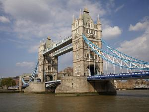 Tower Bridge and River Thames, London, England, United Kingdom by David Wall