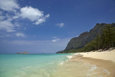 USA, Hawaii, Oahu, Waimanalo Beach