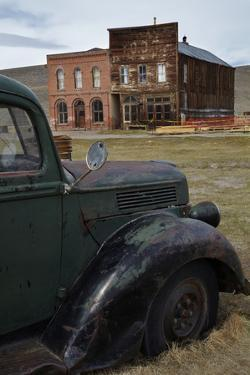 Vintage Truck, Bodie Ghost Town, Bodie Hills, Mono County, California by David Wall