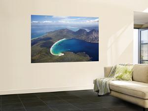 Wineglass Bay and the Hazards, Freycinet National Park, Tasmania, Australia by David Wall
