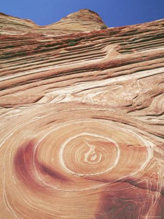 Sandstone Patterns in Rock Formations, Colorado Plateau, Utah, USA