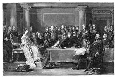 Queen Victoria's First Council, C1837