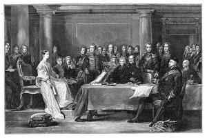 Queen Victoria's First Council, C1837 by David Wilkie