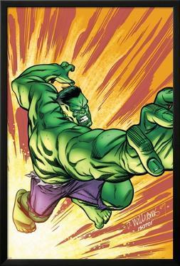 Marvel Adventures Hulk No.3 Cover: Hulk by David Williams