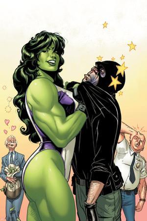 She-Hulk No.38 Cover: She-Hulk