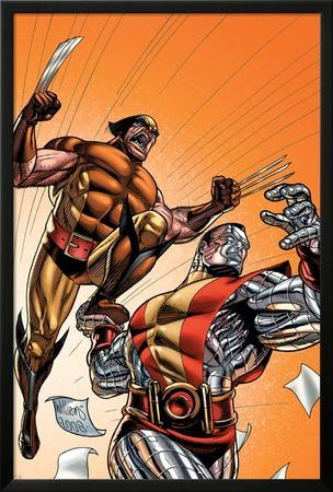 Wolverine First Class No.21 Cover: Colossus and Wolverine