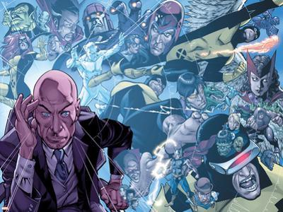X-Men: First Class Giant-Size Special No.1 Group: Xavier