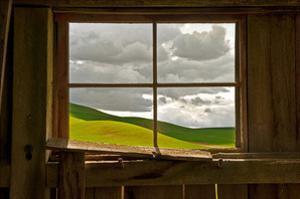 Palouse Barn by David Winston