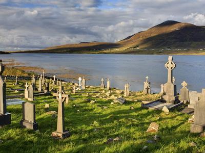 Churchyard, Achill Island, Off the Coast of County Mayo, Republic of Ireland, Europe