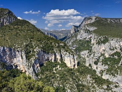 Gorge Du Verdon, Provence, France, Europe