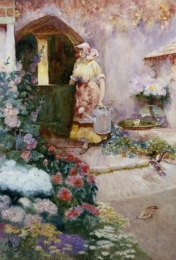In the Garden by David Woodlock