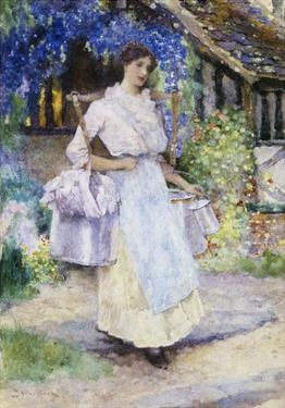 The Pretty Milkmaid by David Woodlock