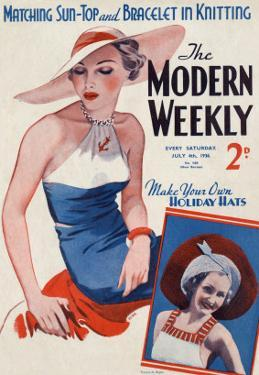 Modern Weekly Magazine Cover by David Wright