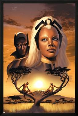 Storm No.1 Cover: Storm and Black Panther by David Yardin