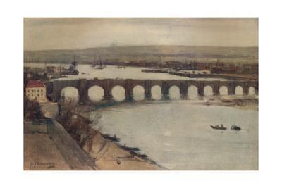 'Berwick Bridge', c1912, (c1915)
