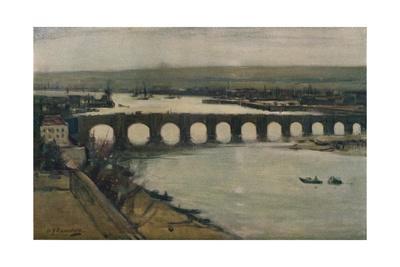 'Berwick Bridge', c1912