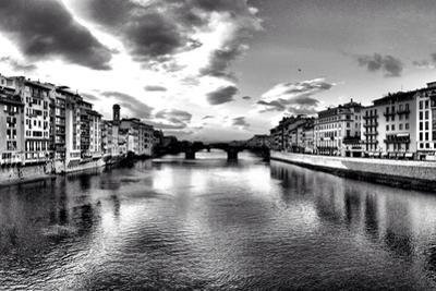 Timeless River Panorama in Florence - Italy by DavidArts