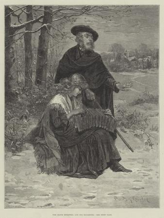 The Blind Minstrel and His Daughter