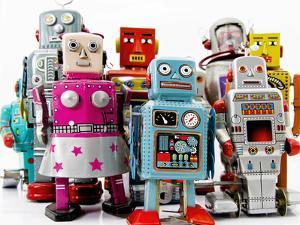 Robot Toys by davinci