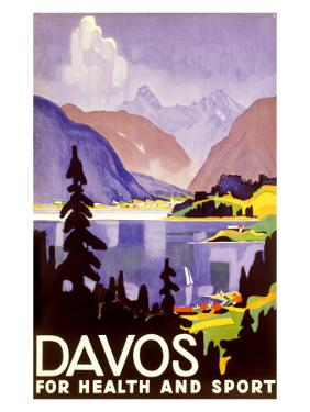 Davos Swiss Alps Ski Resort