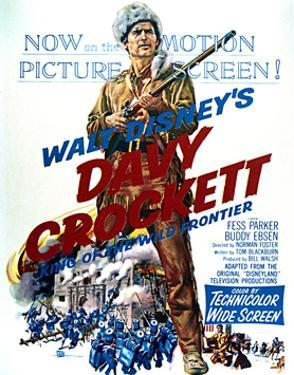Davy Crockett: King of the Wild Frontier - Movie Poster Reproduction