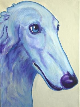 Baby Blue Borzoi by Dawgart