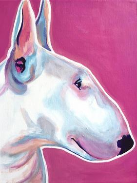 Bull Terrier - Bubble Gum by Dawgart