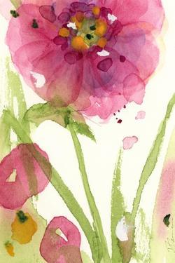 Pink Wildflower by Dawn Derman