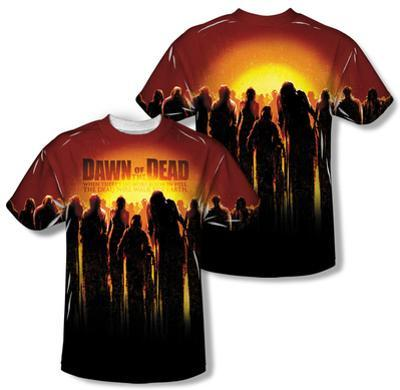 Dawn Of The Dead - Swarm (Front/Back Print)