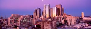 Dawn, Skyline, Los Angeles, California, USA