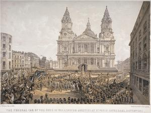 Funeral of the Duke of Wellington, St Paul's Cathedral, City of London, 18 November, 1852 by Day & Son