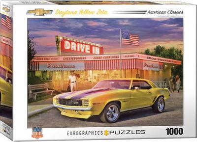 Daytona Yellow Zeta 1000 Piece Puzzle