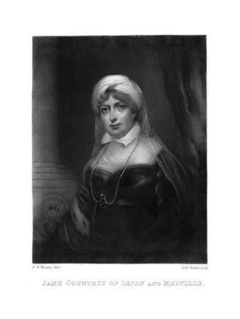Jane Countess Leven