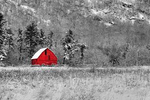 Red Barn by dbriyul