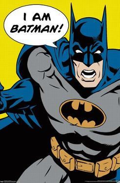 DC COMICS - BATMAN - I AM BATMAN