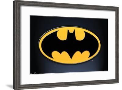 DC Comics - Batman - Symbol--Framed Poster