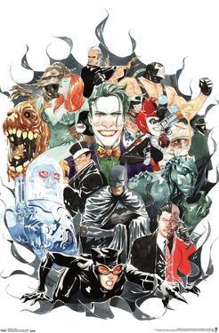 DC COMICS - BATMAN - VILLAINS