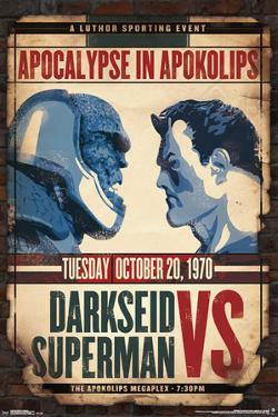 DC Comics- Darkseid Vs Superman
