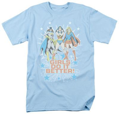 DC Comics - Girls Do It Better