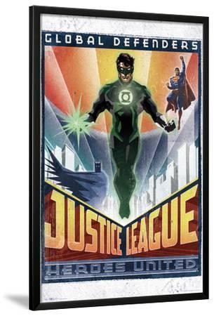 DC Comics Green Lantern - Art Deco