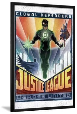 DC Comics Green Lantern - Art Deco