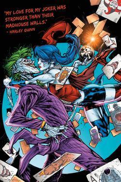Dc Comics Harley Kiss