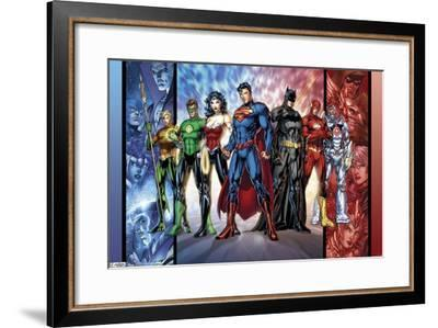 DC Comics - Justice League - The New 52--Framed Poster