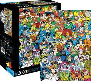 Jigsaw puzzles posters for sale at allposters dc comics line up 3000 piece jigsaw puzzle urtaz Image collections