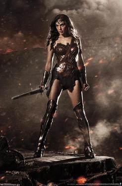 DC COMICS MOVIE - BATMAN V SUPERMAN - WONDER WOMAN