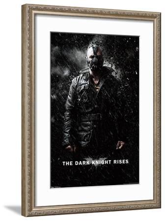 DC Comics Movie - The Dark Knight Rises - Bane Rain--Framed Poster