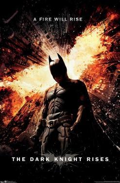 DC Comics Movie - The Dark Knight Rises - One Sheet