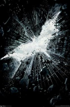 DC COMICS MOVIE - THE DARK KNIGHT RISES - TEASER ONE SHEET